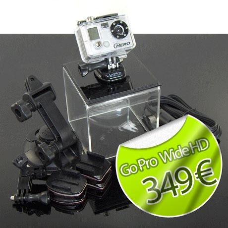 Pack complet Go Pro HD