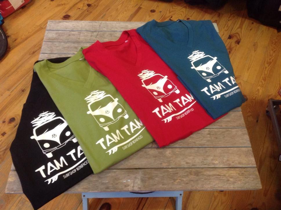 Les tee shirt Tam Tam sont disponibles !