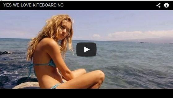 Yes, we love kiteboarding