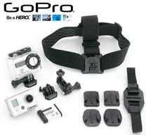 Tous les accessoires de la Go Pro HD.