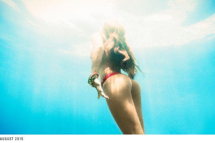 Aprés la vidéo, les photos du calendrier Reef