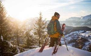 De la neige, du bon ski by Quiksilver !