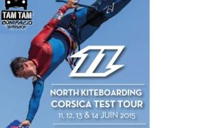 North Kite en Test à Bonifacio